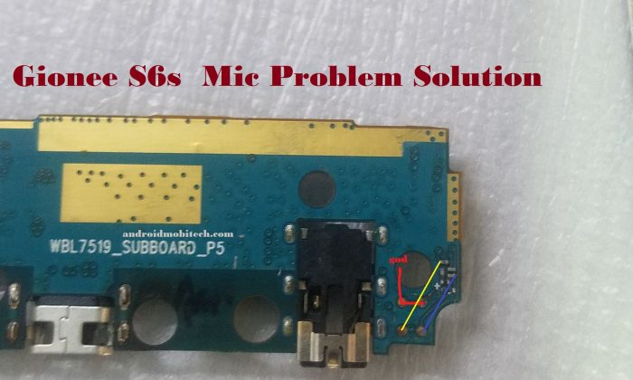 Gionee S6s Mic Problem Solution – MobiTech